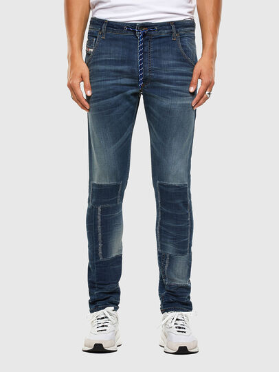 Diesel - Krooley JoggJeans 069NK, Medium blue - Jeans - Image 1