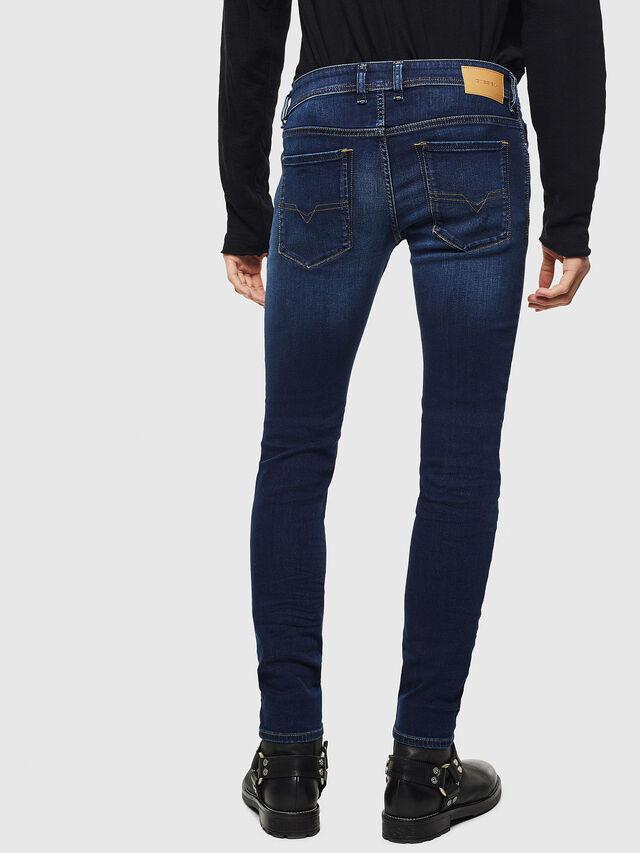 Diesel Sleenker 084RI, Dark Blue - Jeans - Image 2