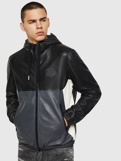 Diesel - L-CARR,  - Leather jackets - Image 1