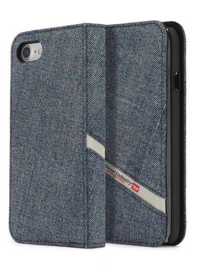Diesel - DENIM IPHONE 8/7 FOLIO,  - Flip covers - Image 1
