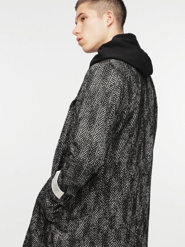 Diesel - W-DEXT, Black Melange - Winter Jackets - Image 7