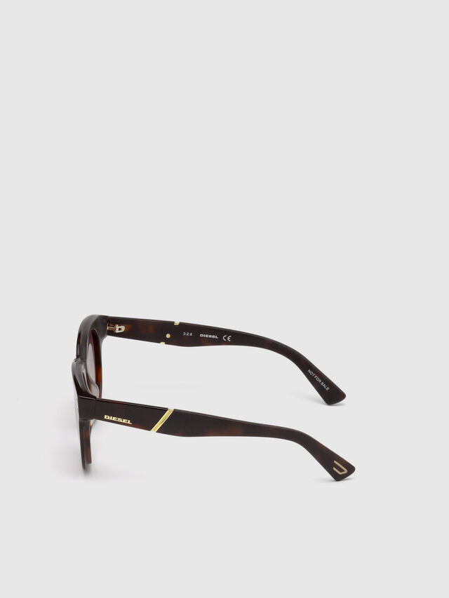 Diesel DL0230, Brown/Black - Eyewear - Image 3