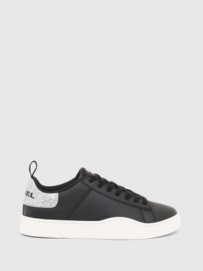S-CLEVER LOW LACE W, Black/Silver - Sneakers