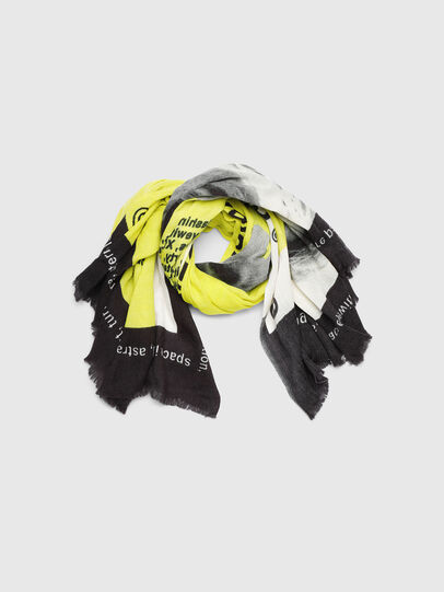 Diesel - SRIGHT, White/Yellow - Scarf - Image 1