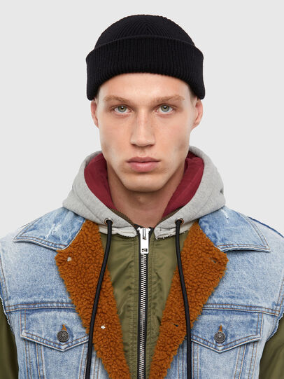Diesel - W-STORMY, Blue/Green - Winter Jackets - Image 3