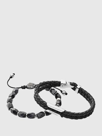 Diesel - DX1242, Black - Bracelets - Image 1