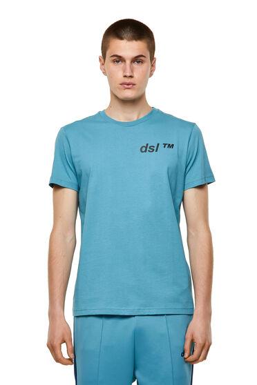Cotton T-shirt with dsl™ print