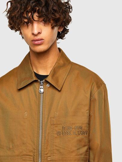 Diesel - S-RAFF, Light Brown - Shirts - Image 3