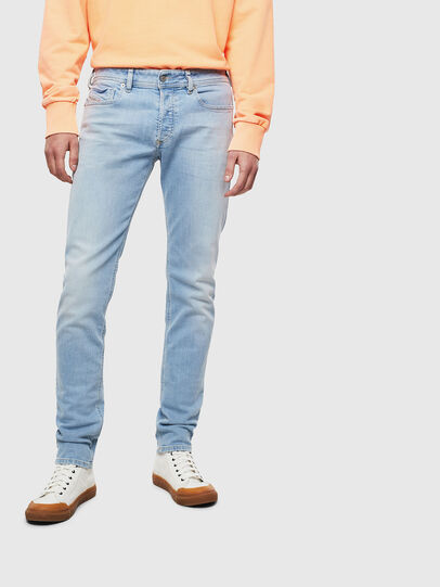 Diesel - Sleenker 009BJ, Light Blue - Jeans - Image 1