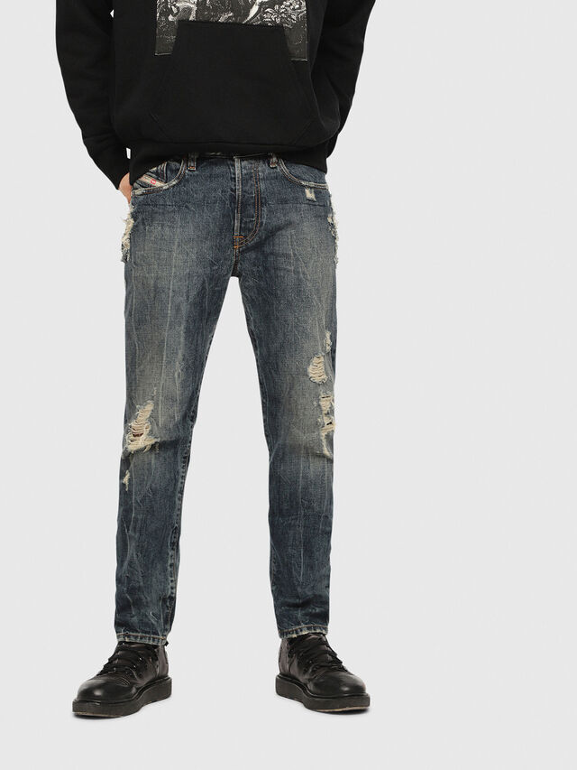 MHARKY 084ZM, Blue Jeans