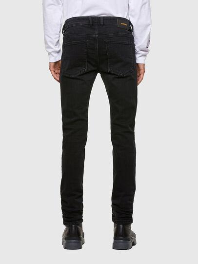 Diesel - Sleenker 009DH, Black/Dark grey - Jeans - Image 2