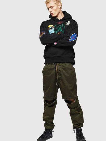 Diesel - P-CASHORT, Military Green - Pants - Image 6