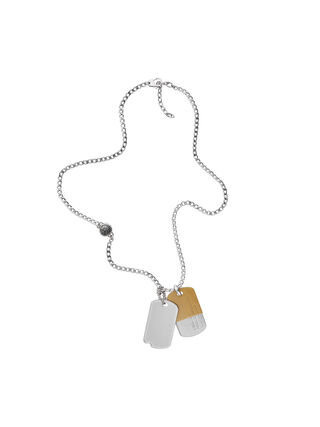NECKLACE DX1055, Silver
