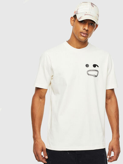 Diesel - T-JUST-T14, White - T-Shirts - Image 1