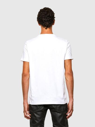 Diesel - T-DIEGOS-N29, White - T-Shirts - Image 2
