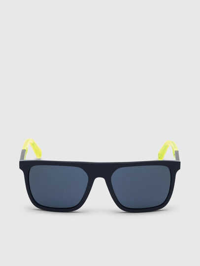 Diesel - DL0299, Blue/Yellow - Sunglasses - Image 1