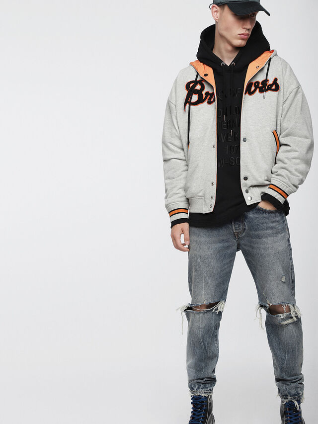 Diesel - S-BONY, Light Grey - Jackets - Image 6