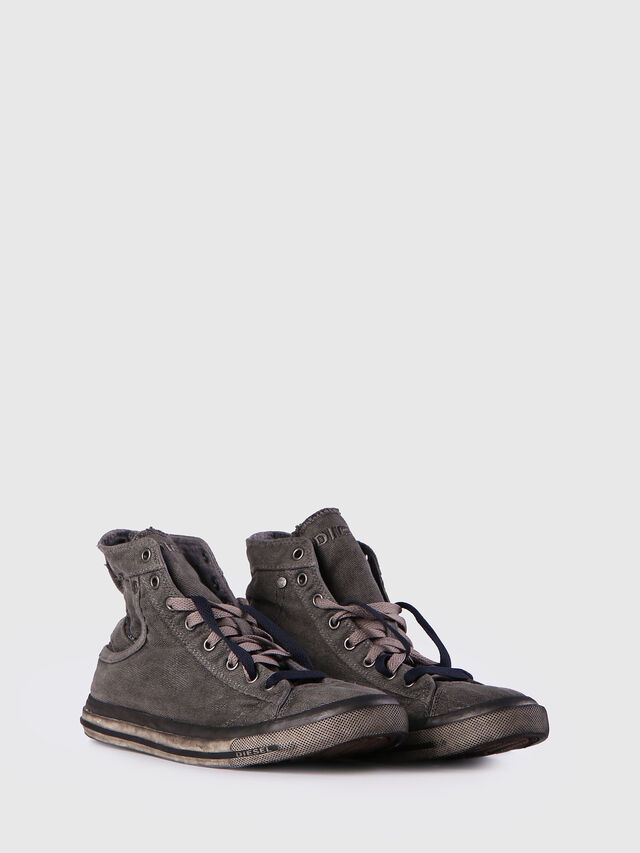 Diesel - EXPOSURE I, Metal Grey - Sneakers - Image 2