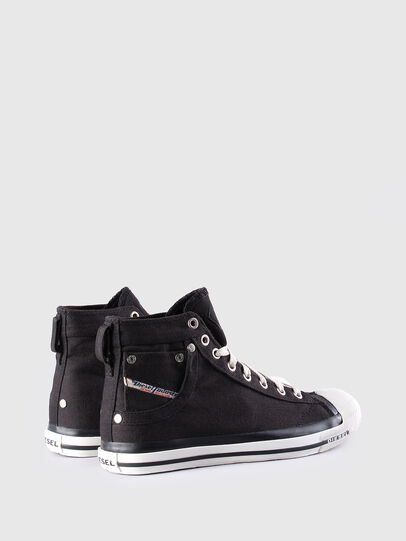 Diesel - EXPOSURE W, Black - Sneakers - Image 3