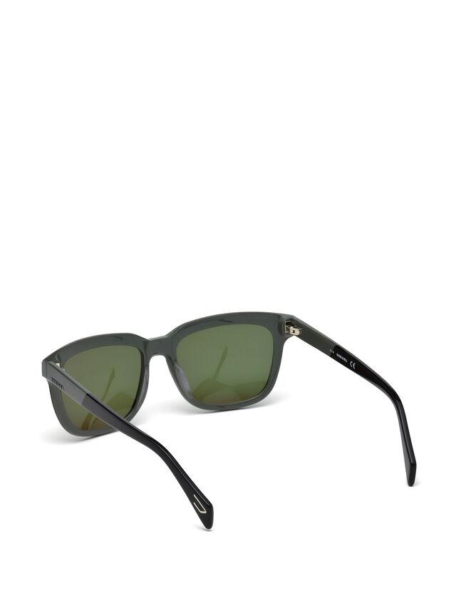 Diesel - DL0224, Green - Sunglasses - Image 2