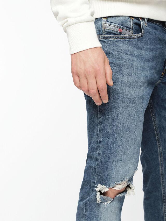 Diesel - Sleenker 069AI, Medium blue - Jeans - Image 4