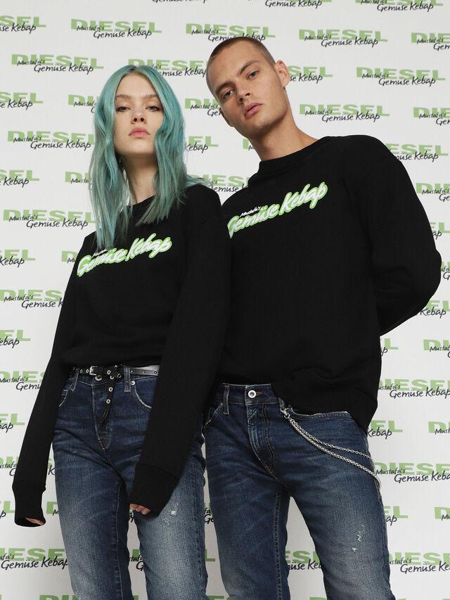 Diesel - MU-FESTA-FL, Black - Sweaters - Image 1