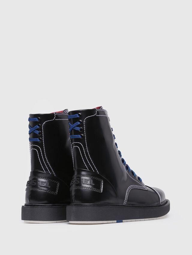 Diesel D-CAGE DBB, Bright Black - Boots - Image 3