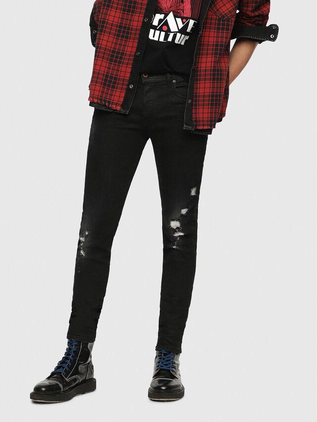 Diesel - Sleenker 084YT, Black/Dark grey - Jeans - Image 1