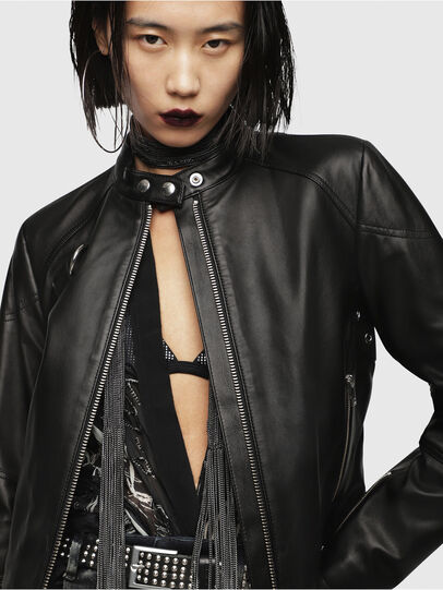 Diesel - L-SUZ,  - Leather jackets - Image 4