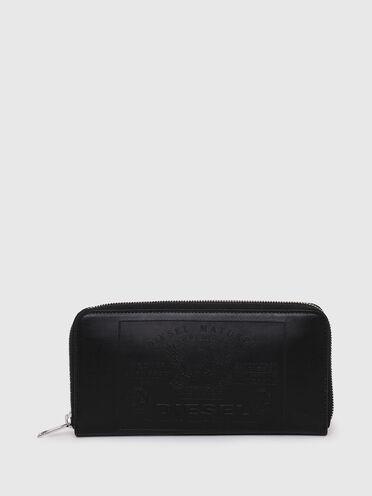 Zip-around wallet with Superior patch