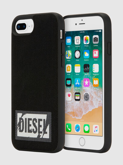 Diesel - BLACK DENIM IPHONE 8 PLUS/7 PLUS/6S PLUS/6 PLUS CASE,  - Cases - Image 1