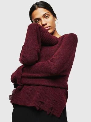 M-MARIKAX, Burgundy - Knitwear