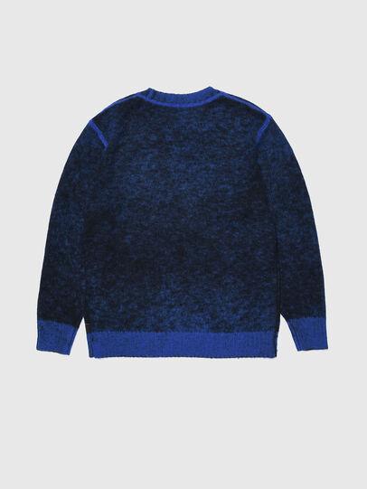 Diesel - KCONF, Black/Blue - Knitwear - Image 2