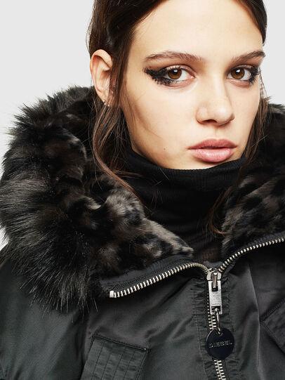 Diesel - W-ISOKE-A, Black - Winter Jackets - Image 6