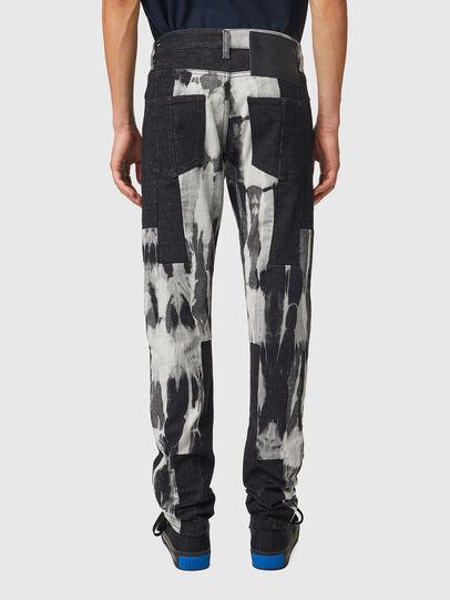 Diesel - D-Kras 09B35, Black/Dark grey - Jeans - Image 2