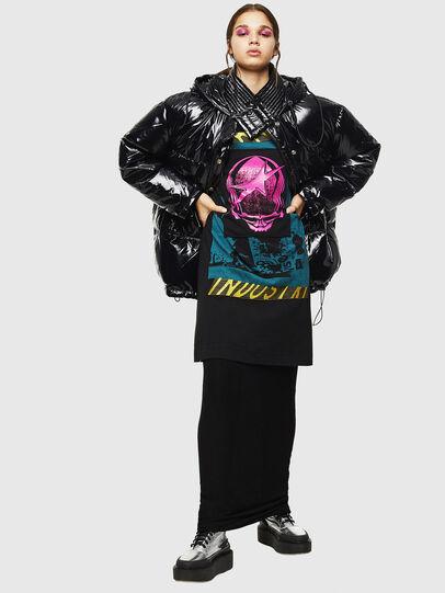Diesel - W-ALLA, Black - Winter Jackets - Image 5
