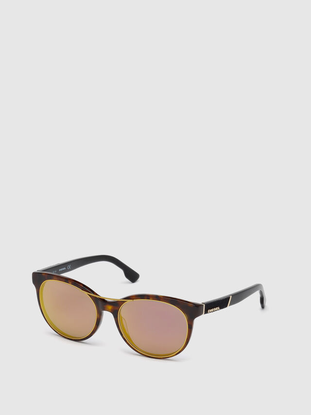 Diesel - DL0213, Brown - Sunglasses - Image 4