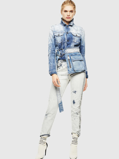 Diesel - D-LIMMY-T, Medium blue - Denim Jackets - Image 5