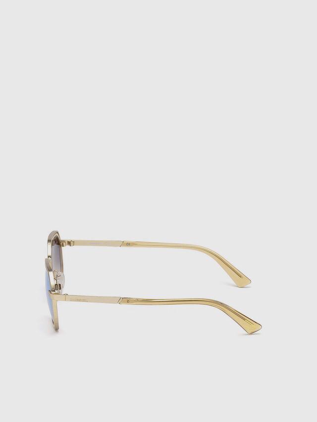 Diesel - DL0267, Gold - Sunglasses - Image 3