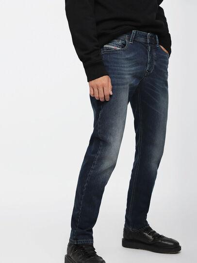 Diesel - Larkee-Beex 084BU, Dark Blue - Jeans - Image 1