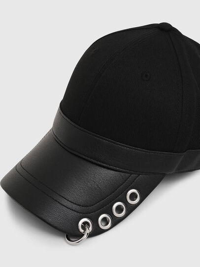 Diesel - COSNAP, Black - Caps - Image 3