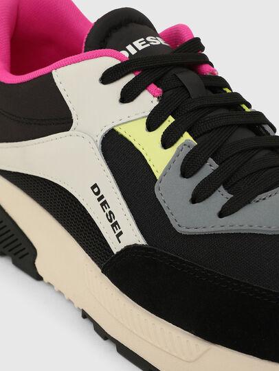 Diesel - S-TYCHE LOW CUT W, Black/Pink - Sneakers - Image 4