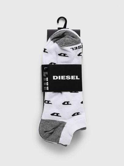 Diesel - SKM-GOST-THREEPACK, Grey/White - Socks - Image 2