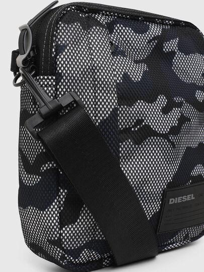 Diesel - ODERZO, Grey/Blue - Crossbody Bags - Image 5