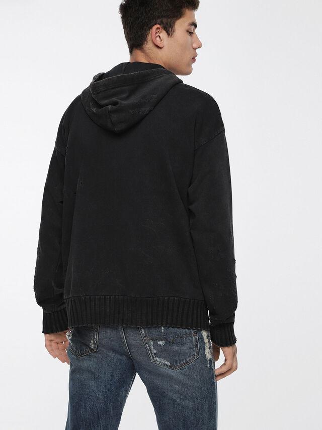 Diesel - S-STAPP, Black - Sweaters - Image 2
