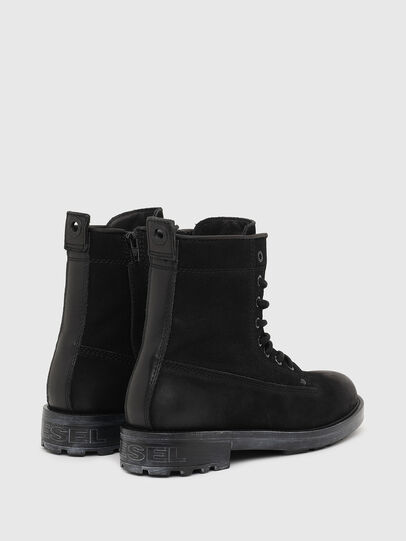 Diesel - D-THROUPER DBB ZC W, Black - Ankle Boots - Image 3