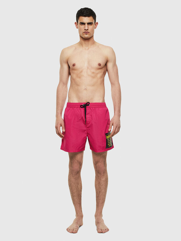 BMBX-WAVE 2.017, Pink - Swim shorts