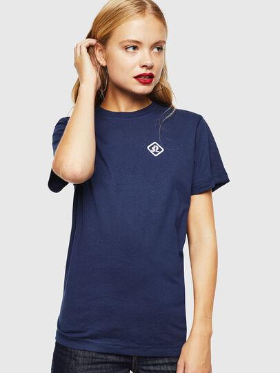 Diesel - CC-T-DIEGO-COLA, Dark Blue - T-Shirts - Image 2