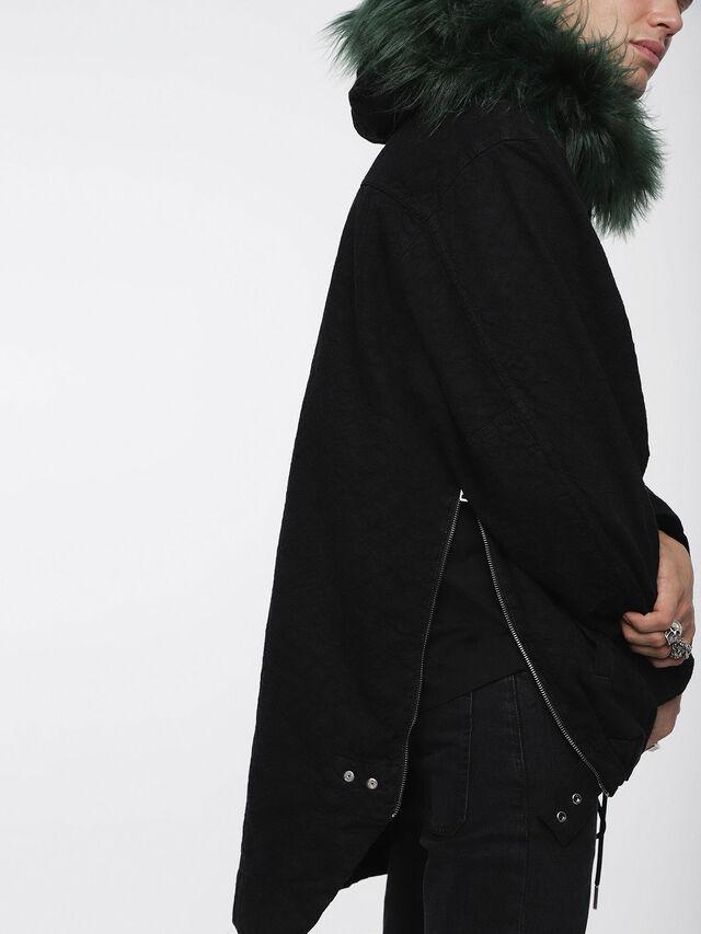 Diesel - D-ANNY, Black - Winter Jackets - Image 4
