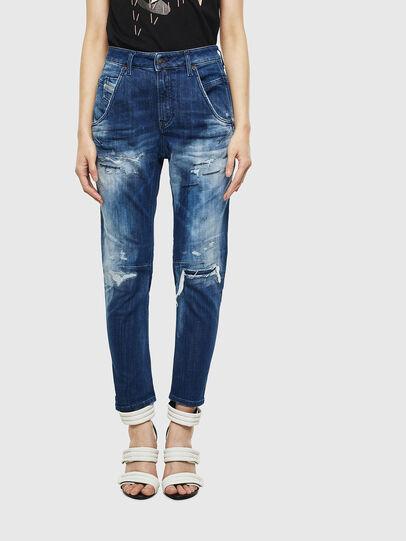 Diesel - Fayza JoggJeans 0099S, Dark Blue - Jeans - Image 1